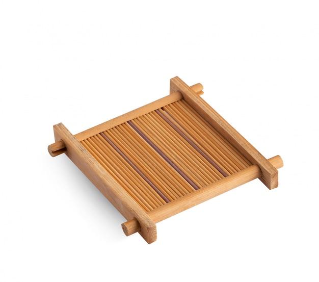 Bambu isolado no fundo branco, isolado no fundo branco