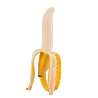 Banana amarela.