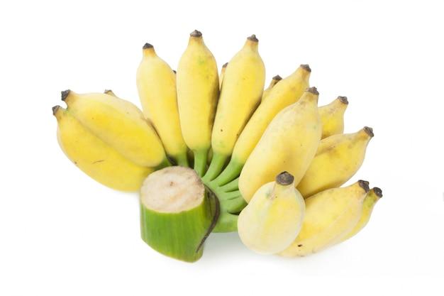 Banana cultivada isolada