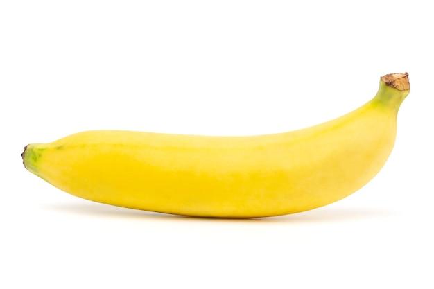 Banana isolada de perto