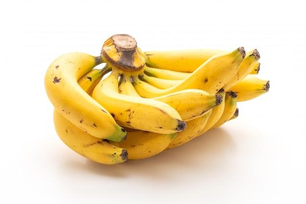 Banana isolado no fundo branco
