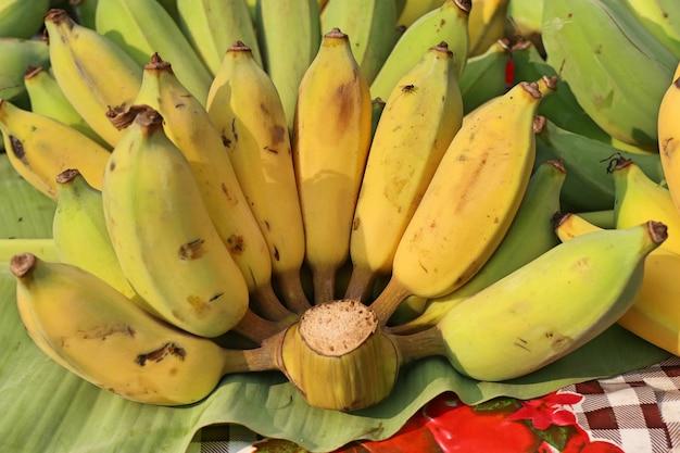 Banana no mercado