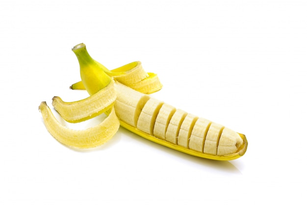 Banana saborosa isolado