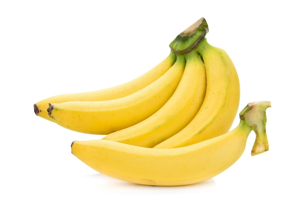Bananas isoladas