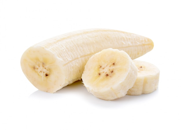 Bananas isoladas