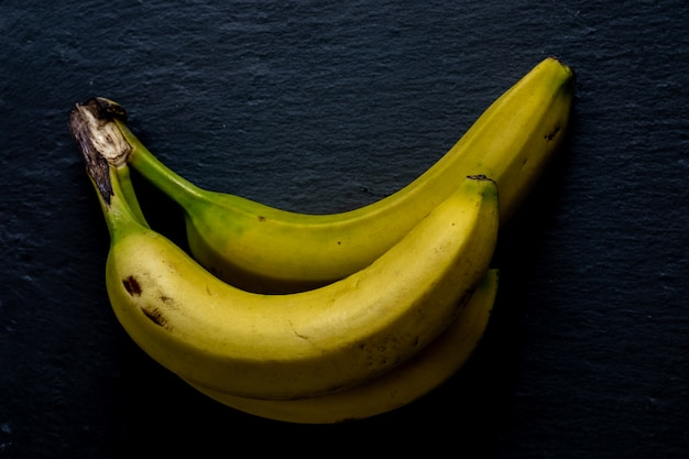 Bananas no quadro-negro