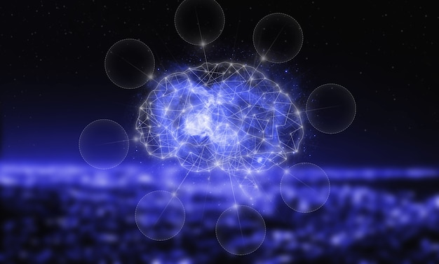 Banco de dados global e inteligência artificial. o conceito moderno de ciberencéfalo. ia, aprendizado de máquina