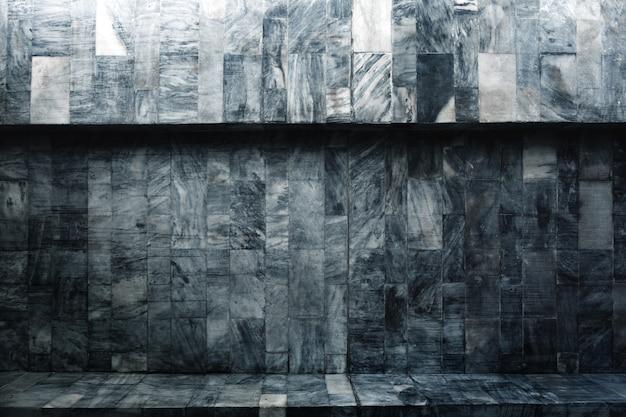 Banco de textura de pedra de mármore vintage e para arquitetura