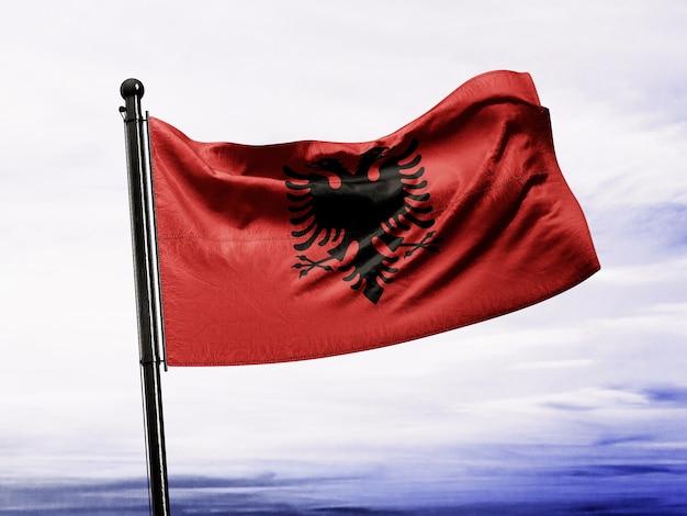 Bandeira albanesa