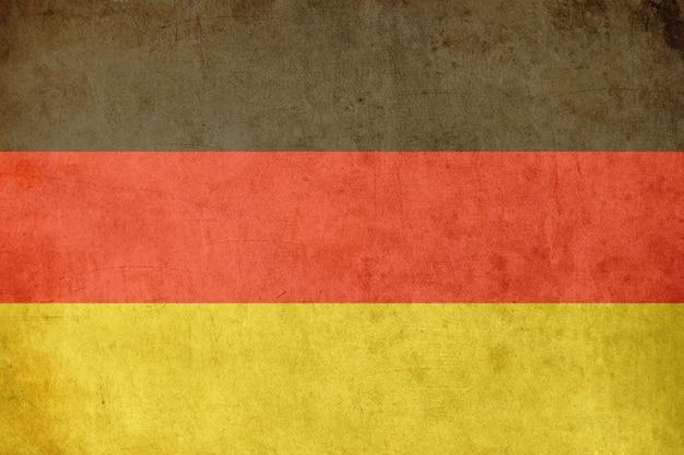 Bandeira alemã, antigo estilo de cartão postal texturizado