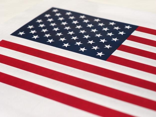 Bandeira americana dos estados unidos da américa