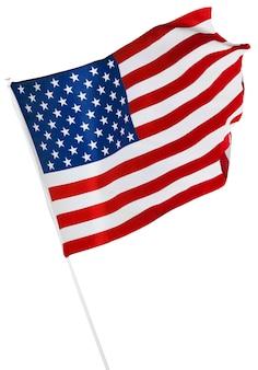 Bandeira americana isolada