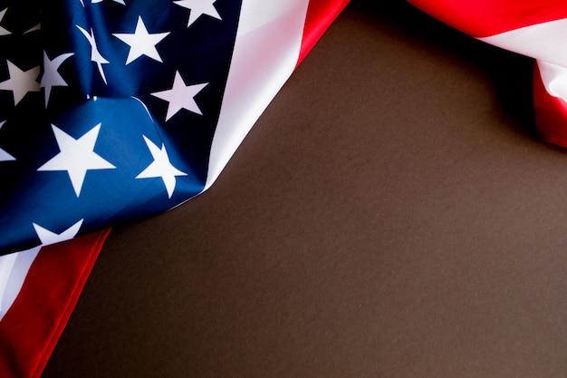 Bandeira americana para o memorial day ou 4 de julho.