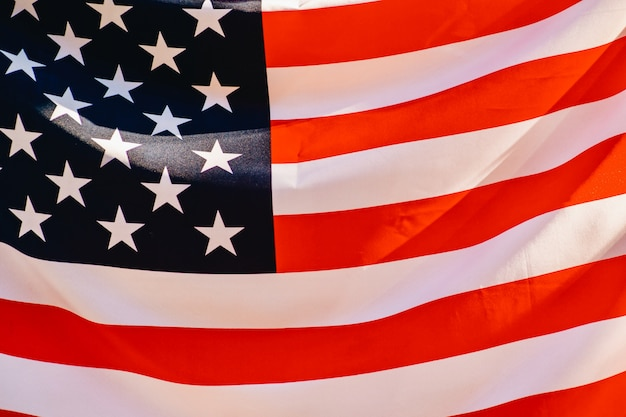 Bandeira americana.