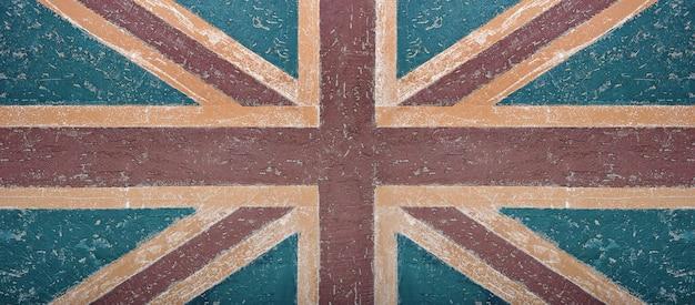 Bandeira britânica do grunge
