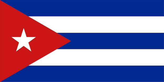 Bandeira cubana de cuba
