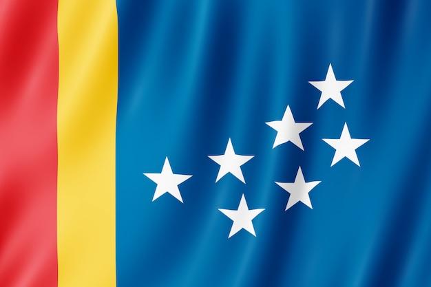 Bandeira da cidade de durham, carolina do norte (eua)