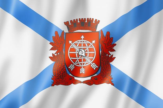 Bandeira da cidade do rio, brasil
