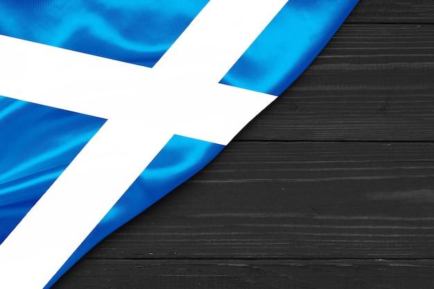 Bandeira da escócia copie o espaço