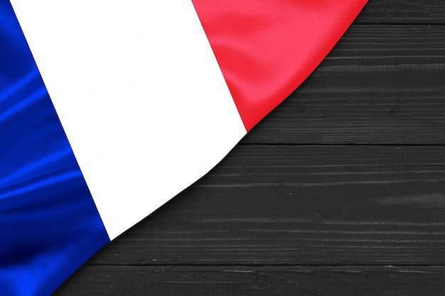 Bandeira da frança cópia espaço