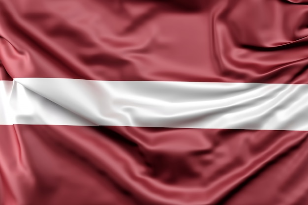 Bandeira da letónia