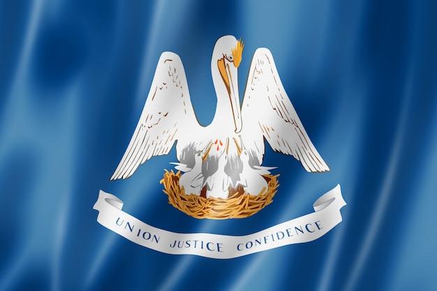 Bandeira da louisiana, eua