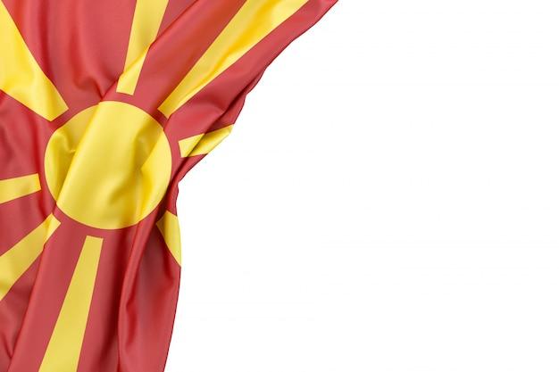 Bandeira da macedônia do norte