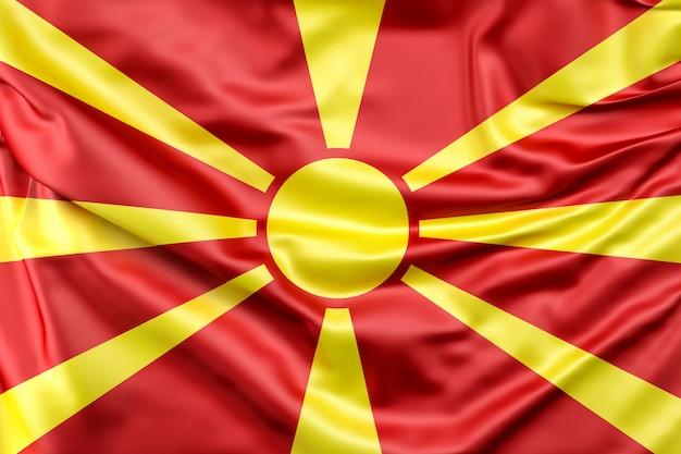 Bandeira da república da macedónia