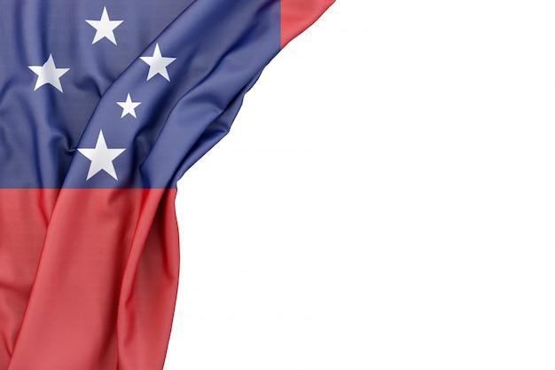 Bandeira da samoa