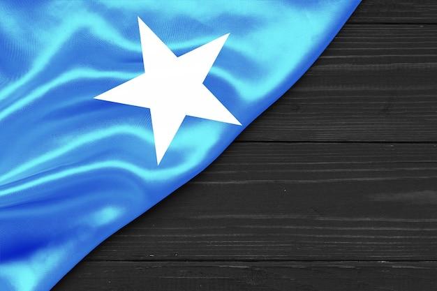 Bandeira da somália cópia espaço
