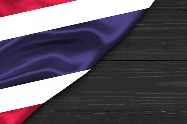 Bandeira da tailândia cópia espaço
