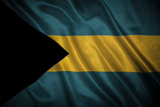 Bandeira das bahamas fundo