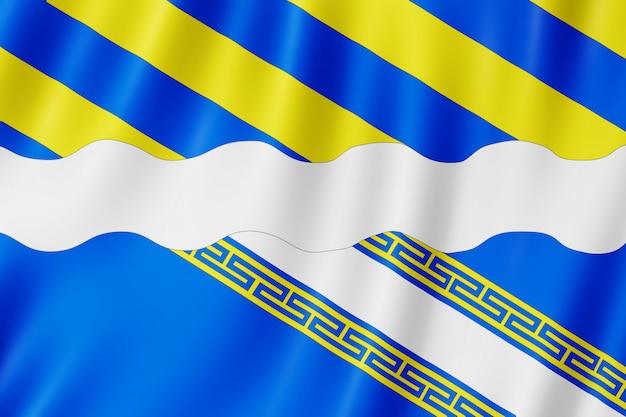 Bandeira, de, aisne, frança