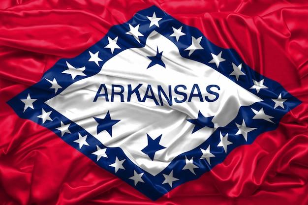 Bandeira, de, arkansas, estado, de, estados unidos américa