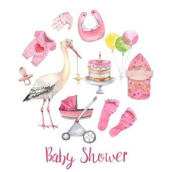Bandeira de chuveiro de bebê