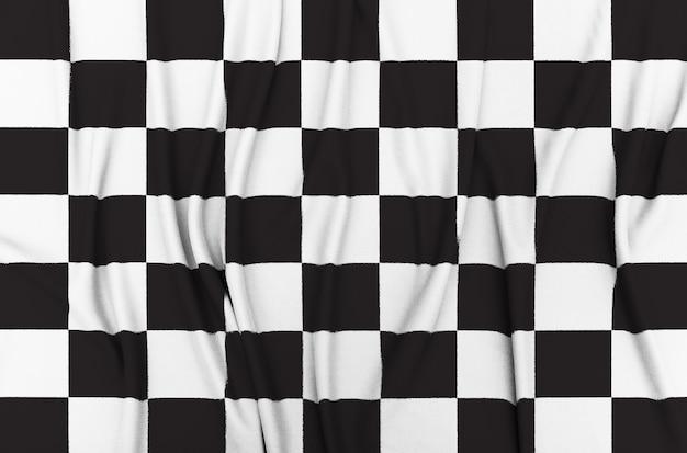 Bandeira de corrida quadriculada