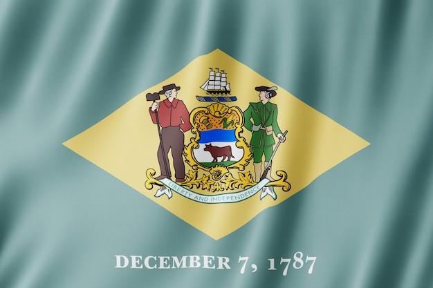 Bandeira de delaware