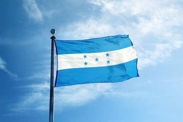 Bandeira de honduras no mastro