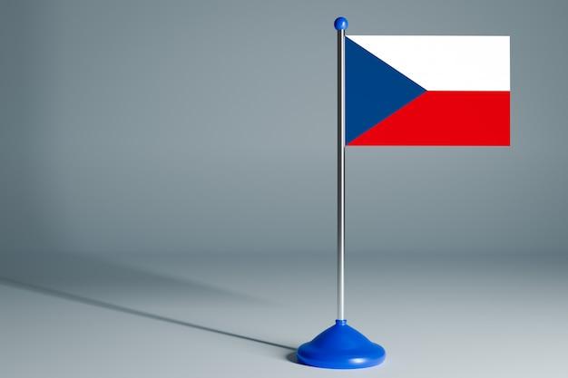 Bandeira de mesa em branco, adequada para design,