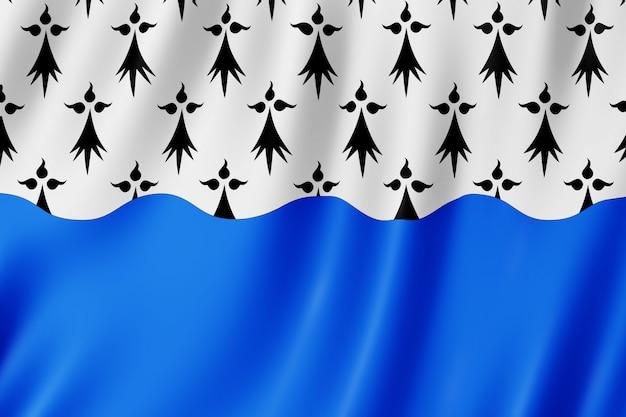 Bandeira, de, morbihan, frança