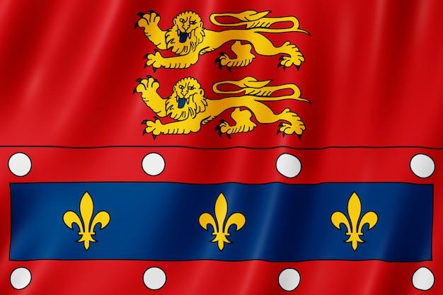 Bandeira, de, orne, frança