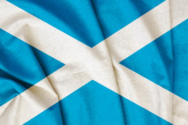 Bandeira de scotland do vintage