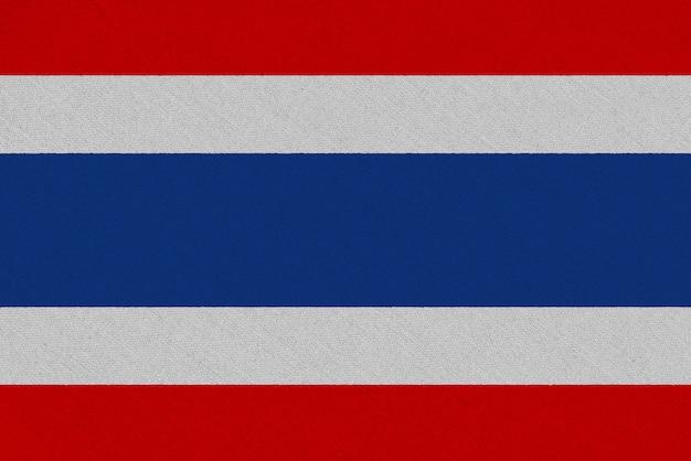Bandeira de tecido da tailândia