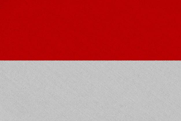 Bandeira de tecido de mônaco