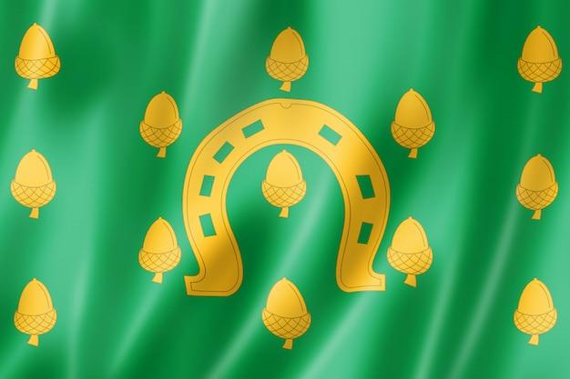 Bandeira do condado de rutland, reino unido