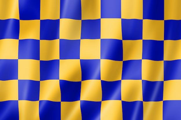 Bandeira do condado de surrey, reino unido