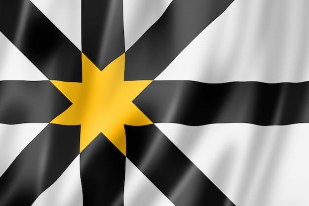 Bandeira do condado de sutherland, reino unido