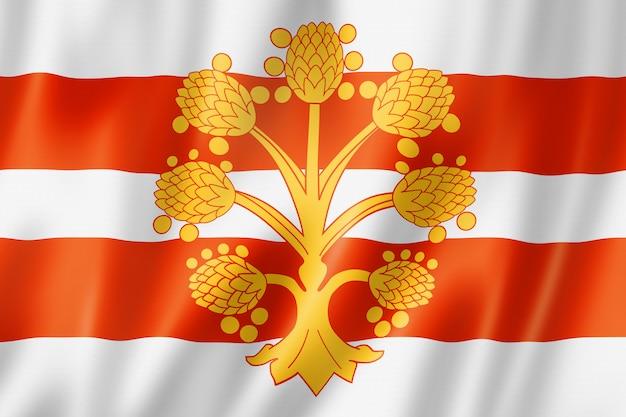 Bandeira do condado de westmorland, reino unido