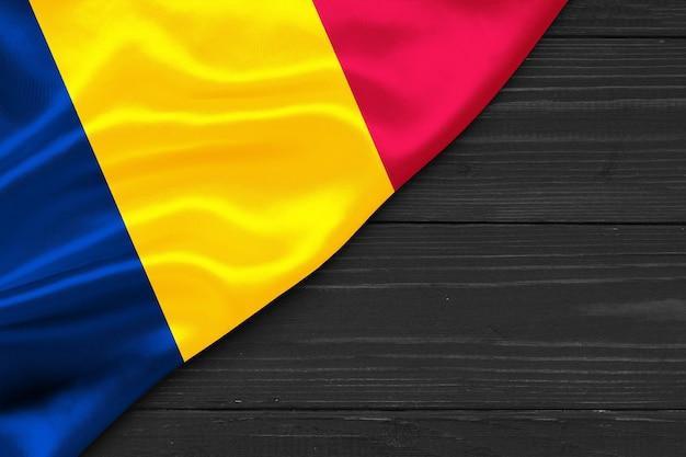 Bandeira do espaço de cópia chad