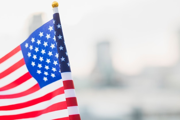 Bandeira do eua para o dia da independência